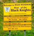 Image for West Windsor home of the Black Knights