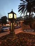 Image for Sumter Landing Steam Clock - The Villages, Florida USA