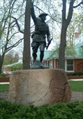 """Image for """"Over the Top to Victory"""" Doughboy Statue - Wheaton, IL"""