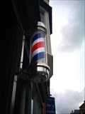 Image for Barber Pole, Billys Barbers, Eastgate Street, Aberystwyth, Ceredigion, Wales, UK