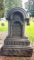 Image for W. M. Robinett - Pleasant Hill Cemetery - Pleasant Hill, OR