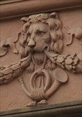 Image for Lion Head at Postamt, Bad Nauheim - Hessen / Germany