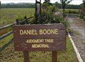 Image for Daniel Boone Judgment Tree Memorial