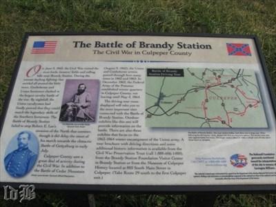 CWPT marker - The Civil War in Culpeper County