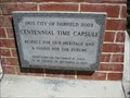 Image for Fairfield 100 year time capsule - Fairfield, CA