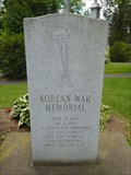 Image for Bainbridge Korean War Memorial - Bainbridge, NY