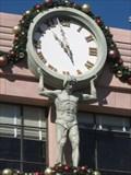 Image for I. Stein & Co.'s Atlas Clock - Universal Studios
