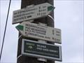 Image for Direction and Distance Arrow - Boleradice, Czech Republic