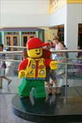 Image for Lego Boy & Girl Crown Center Plaza - Kansas City MO