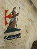 Image for Une enseigne de santonnier - Saint Guilhem du Désert, France
