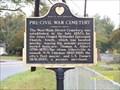 Image for Pre-Civil War Cemetery - Albertville, AL