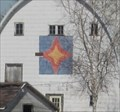 Image for North Star Barn Quilt, rural Wellsburg, IA