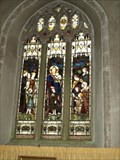 Image for Stained glass windows at  St Dominic Church, Cornwall