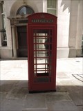 Image for Red Telephone Box - New Broad Street, London, UK