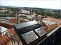 Image for Orientation tables on City Tower, Jindrichuv Hradec, Czech republic