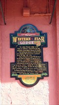 Image for Western Star Lodge No. 2 - Shasta, CA