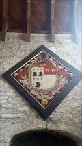 Image for Humphrey Hall hatchment - St Mary - Sampford Spiney, Devon