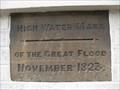 Image for Great Flood of 1823 - The Phoenix, St John's Street, Bedford, Bedfordshire, UK