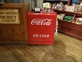 Image for Coca Cola Cooler-Cracker Barrel- Scottsburg, Indiana