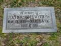 Image for Floyd Rhodes Wylie, Sr. - Jacksonville, FL