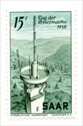 Image for Schwarzenbergturm - International Stamp Day 1956 - Saarbrücken, Germany