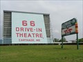 Image for 66 Drive-In Theatre - Satellite Oddity - Carthage, Missouri, USA.
