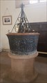 Image for Baptism Font pedestal - St Mary - Frampton on Severn, Gloucestershire