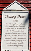 Image for Port Medway Meeting House - 1832 - Port Medway, NS