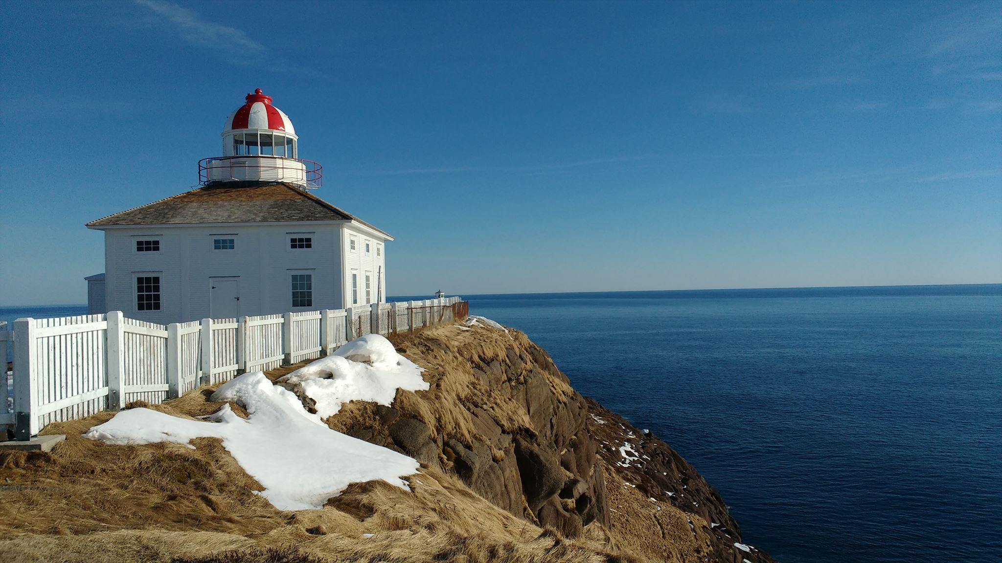 Pleasant Cape Spear Lighthouse Cape Spear Newfoundland Atlantic Download Free Architecture Designs Lukepmadebymaigaardcom