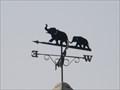 Image for Elephants weathervane, Nr Dorridge, West Midlands, England