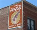 Image for Coca Cola mural, The Dalles, Oregon