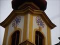 Image for Alte Pfarrkirche Kirchturmuhr Völs, Tirol, Austria