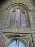 Image for The tower stained glass window, St Euny Church  Carn Brea, Redruth Cornwall, UK