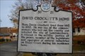 Image for David Crockett's Home - 3F 21 - Lawrenceburg, TN