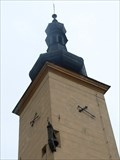 Image for Hodiny na radnici / the clock on the town hall - Dacice, Czech republic