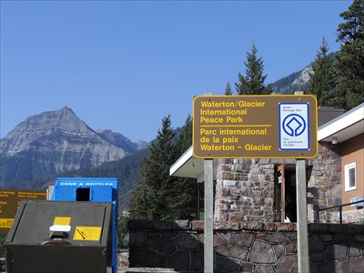 Sign in Waterton.