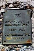 Image for Canadian Centennial Commemorative Project Plaque - Tarrys, BC