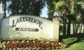 Image for Lakeridge Winery