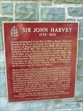 Image for CNHS - Sir John Harvey 1778-1852 - St. John's, Newfoundland and Labrador