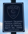 Image for Robert Targosz, Police Officer - Gilbert, AZ