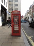 Image for Red Telephone Box - New Bond Street, London, UK