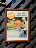 Image for Vintage Coca Cola Ads - Cracker Barrel - Holyoke, MA