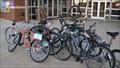 Image for Racing Man bike rack - OSU - Stillwater, OK