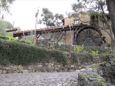 Water Wheel Flume, Los Gatos, CA