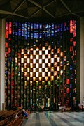Image for Baptistry window at Coventry cathedral