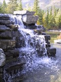 Image for Kananaskis Lodge Man-made Falls - Kananaskis Village, Alberta
