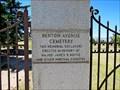 Image for Benton Avenue Cemetery - Helena, MT