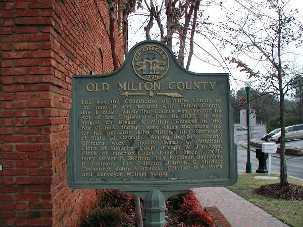 Old Milton County
