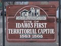 Image for Idaho's first Territorial Captial