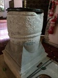 Image for Medieval Font - St Mary Church - Vale of Glamorgan, Wales.